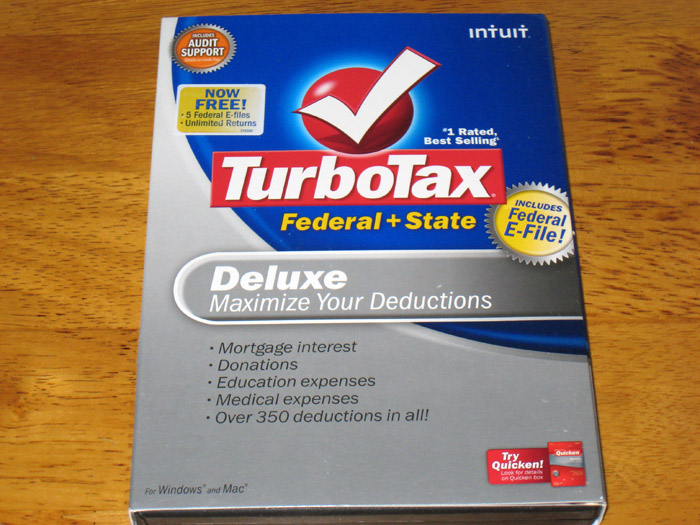 TurboTax 2009 Premier Federal /& State Investments and Rental Property